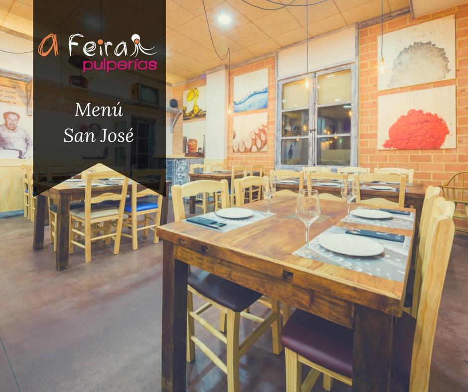 Menú San José